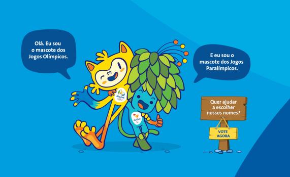 Rio 2016 apresenta seus mascotes inspirados na fauna e na flora brasileira