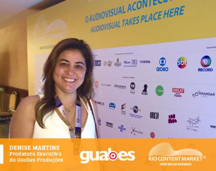 Guabes participa de evento que promove a produção audiovisual